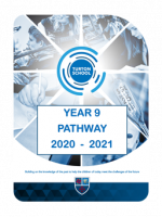 Y8-9 Pathway Options 2020